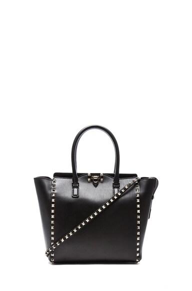 Rockstud Double Handle Bag