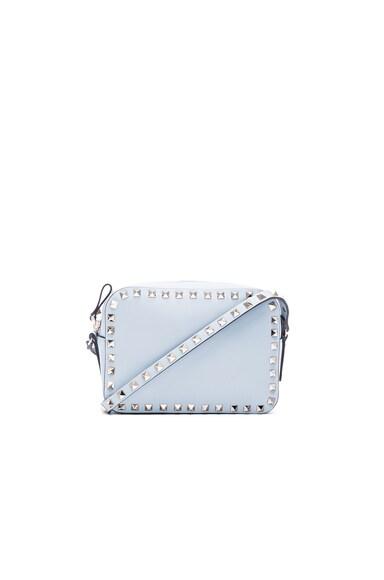 Valentino Rockstud Crossbody Bag in Sky Sorbet