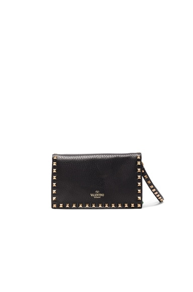 Rockstud Ribbons Clutch