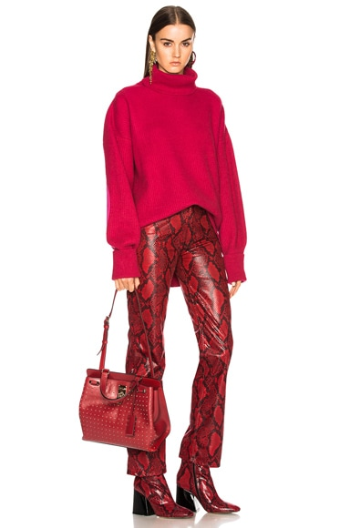 Medium Studded Piper Handle Bag