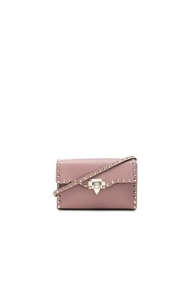 Medium Rockstud Shoulder Bag