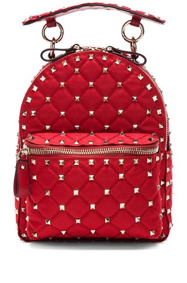Mini Rockstud Spike Nylon Backpack