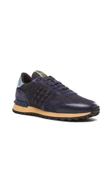Rock Runner Rockstud Sneakers