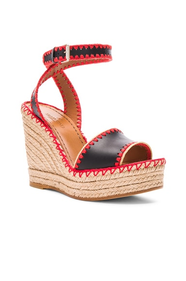 Leather Color Crochet Wedges