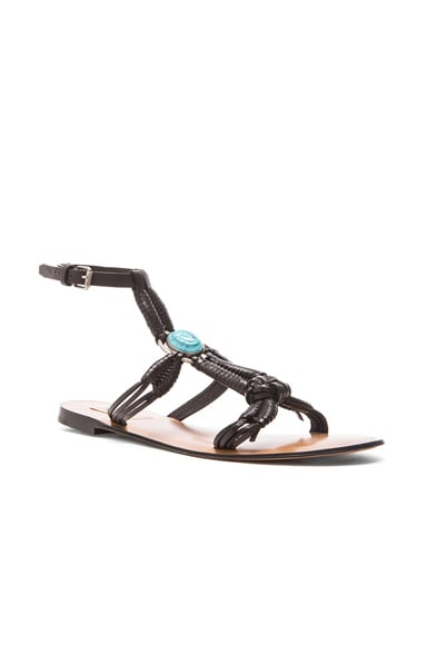 Scarab Sandals