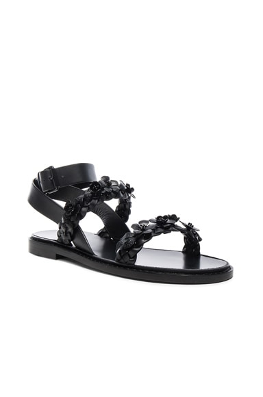 Leather Garden Party Sandals