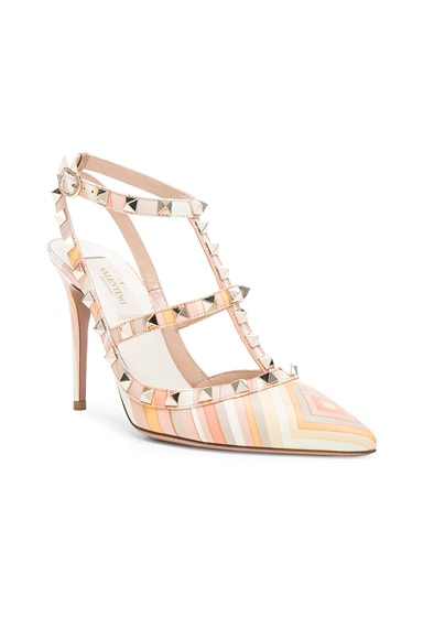 Leather Rockstud 1975 Heels