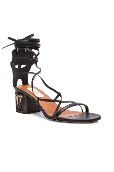 Tribe Gladiator Leather Heeled Sandals