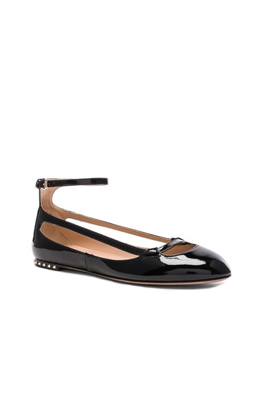 Stardust Babe Patent Leather Ballerina Flats