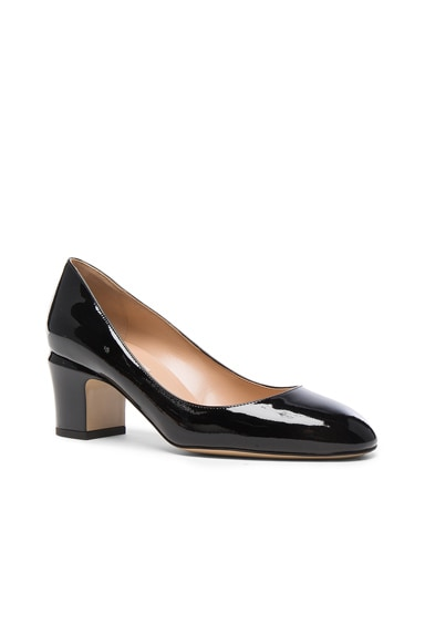 Tan-Go Patent Leather Pump