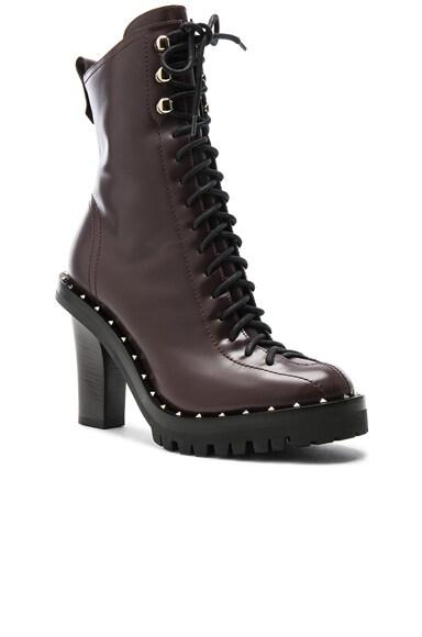 Leather Soul Rockstud Boots