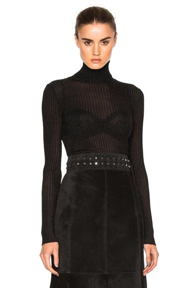 Vanessa Bruno Freely Top in Black