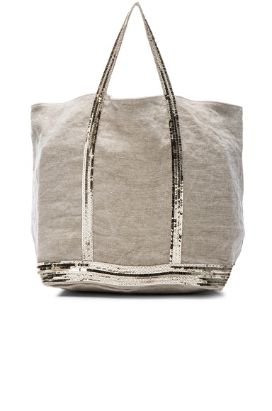 Vanessa Bruno Cabas Grand Tote in Sable