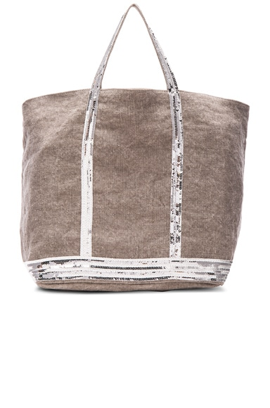 Vanessa Bruno Grand Cabas Tote in Calcaire