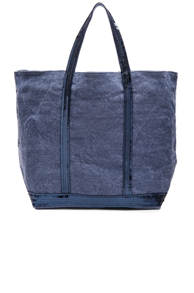 Vanessa Bruno Medium Cabas Tote in Chambray