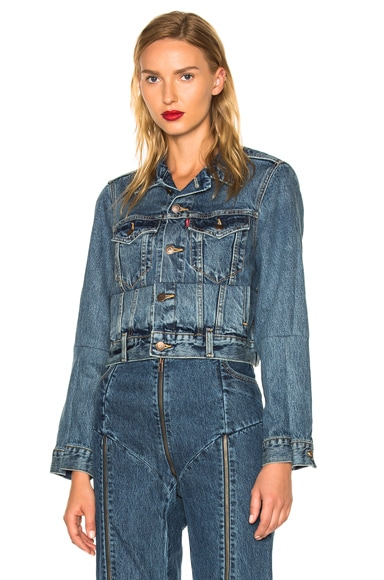 x Levis Reworked Denim Jacket