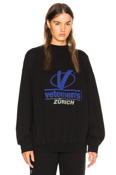 Zurich Print Crewneck