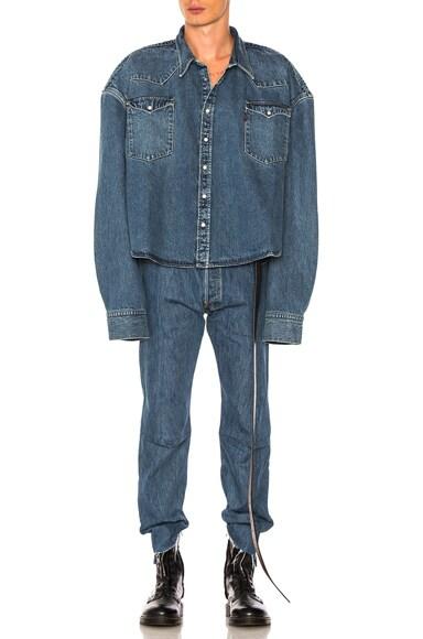 x Levis Square Denim Shirt