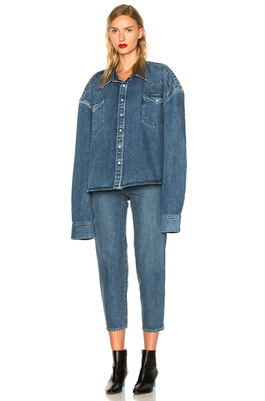 x Levis Square Denim Shirt