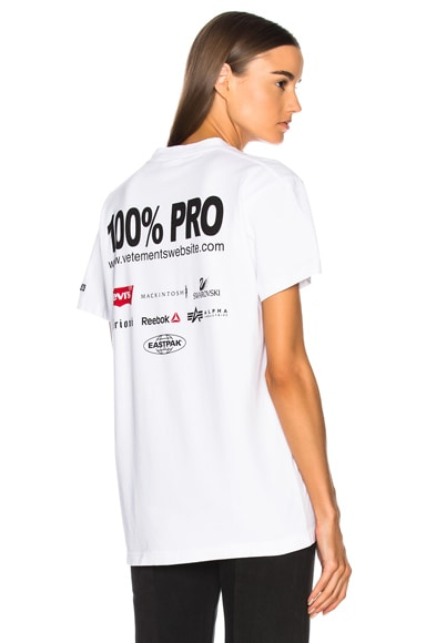 100% Pro Tee