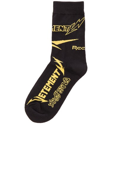 x Reebok Short Metal Socks