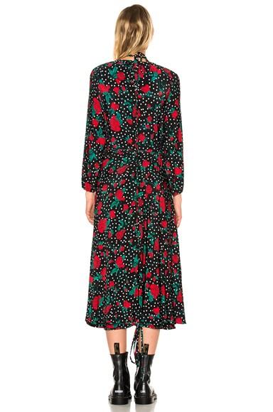 Polka Dot Flower Dress