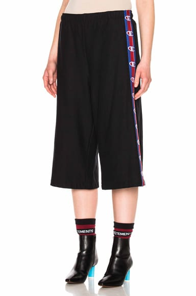x Champion Shorts with Tape