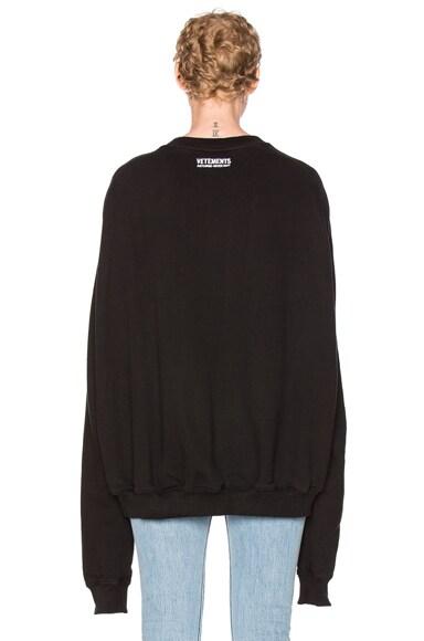 Oversized Sweatshirt Unidad Hombres