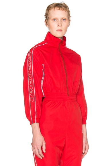 VETEMENTS Track Jacket in Red