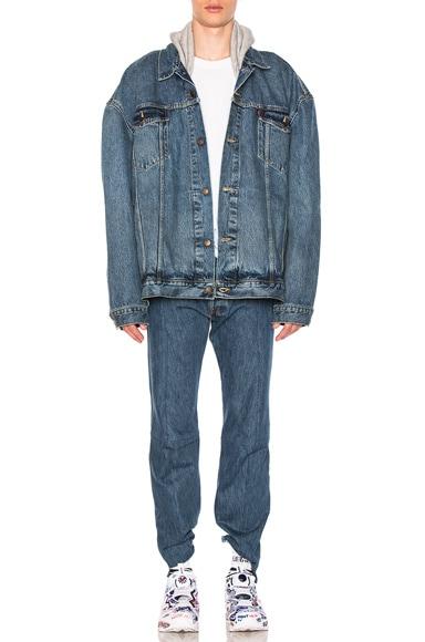 x Levis Oversized Denim Jacket