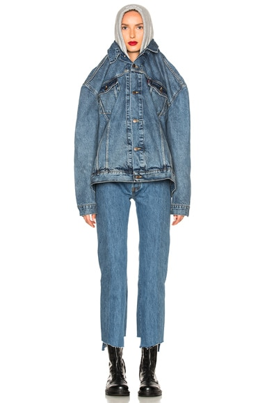 x Levis Oversized Denim Jacket