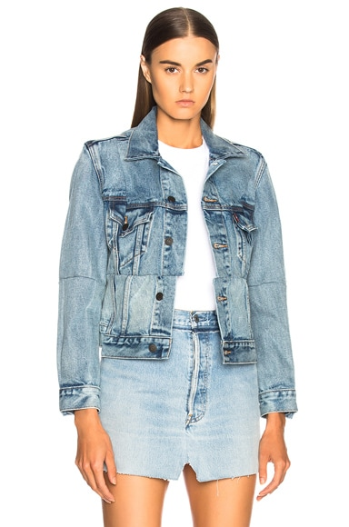 Reworked Denim Jacket
