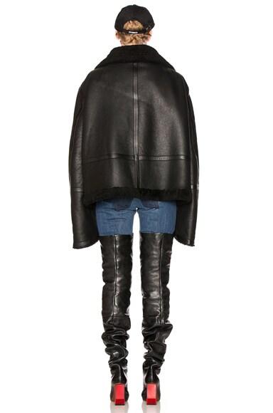 Oversized Sheep Shearling Jacket