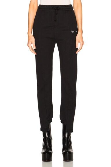 VETEMENTS Sweatpants in Black
