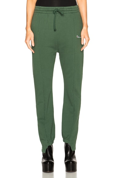 VETEMENTS Sweatpants in Green