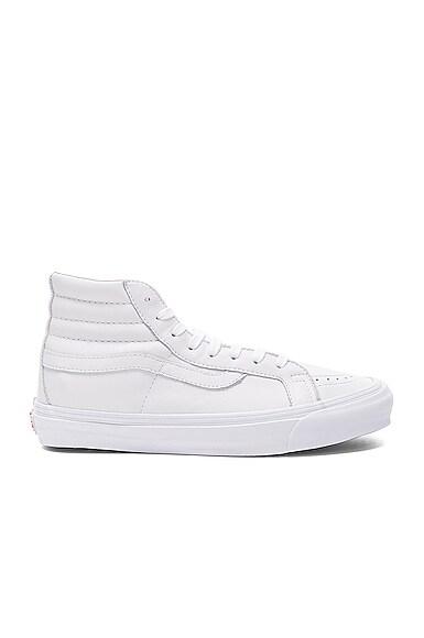 Vans Vault Leather OG SK8-HI LX in White