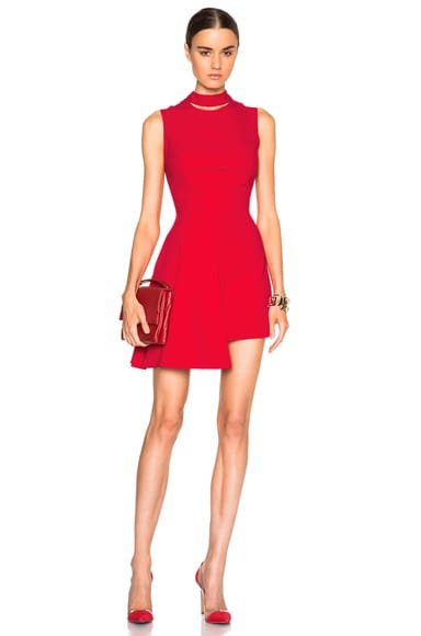 VERSACE Mini Dress in Red