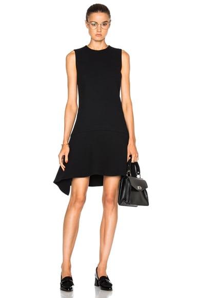 Victoria Victoria Beckham Drape Skirt Dress in Black