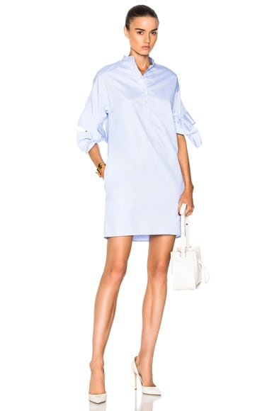 Bow Sleeve Shift Dress