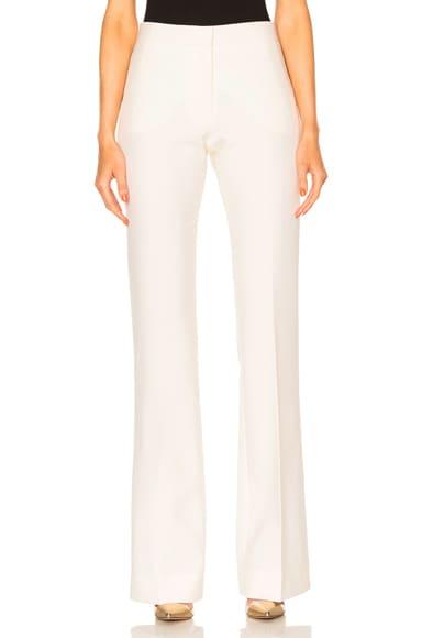 Victoria Victoria Beckham Victoria Pant in Cream
