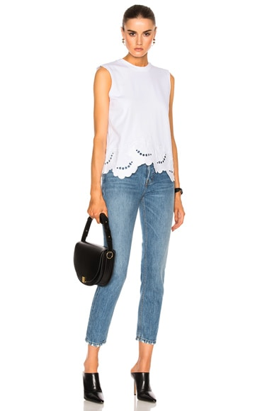 Delft Embroidered Sl Tee