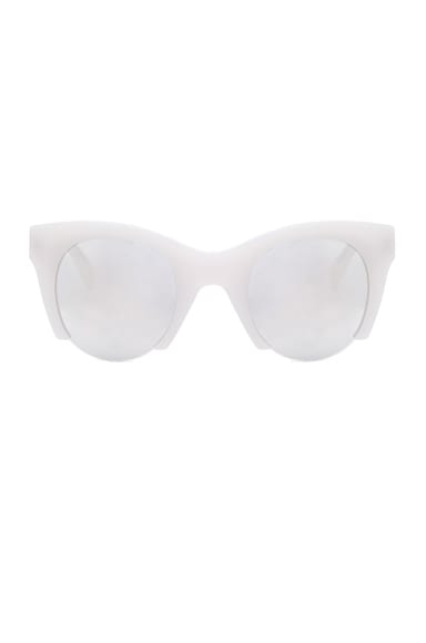 WESTWARD LEANING Fhloston Paradise 3 Sunglasses in Marshmallow