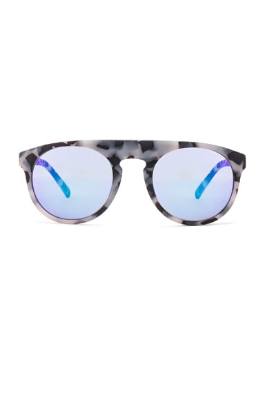 WESTWARD LEANING Atlas 4 Sunglasses in Snow Leopard