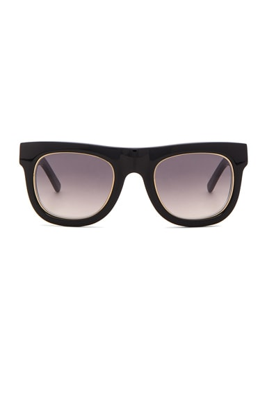 WESTWARD LEANING Pharaoh 1 Sunglasses in Black