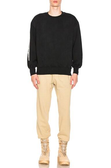 Boxy Crewneck Sweatshirt