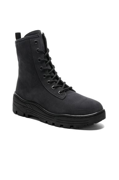 Season 5 Nubuck Military Boot in