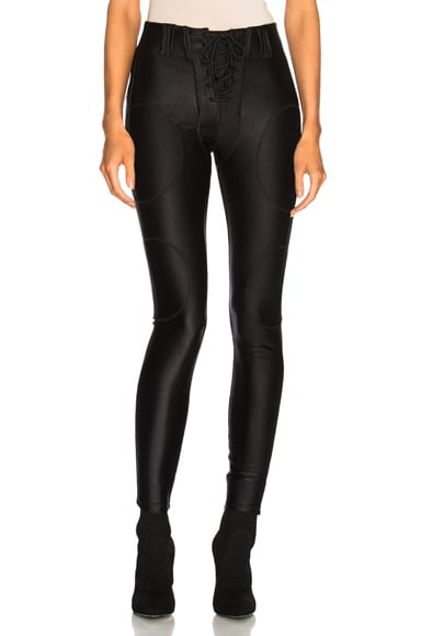 Season 5 Shiny Lace Up Leggings