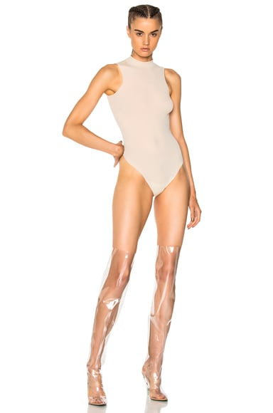 High Legline Bodysuit