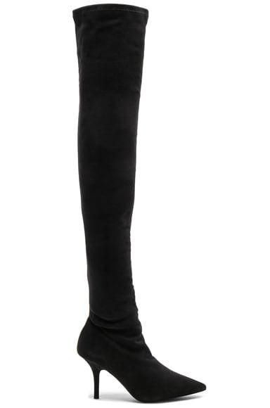 Season 5 Suede Thigh High Boots
