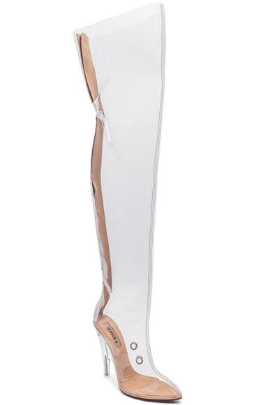 Season 4 PVC Tubular Boots